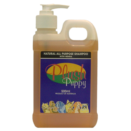 Plush Puppy - All Purpose Shampoo with Henna - 500mL