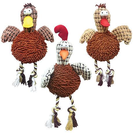 EthicalSpot Giggler Plush Chicken - Group