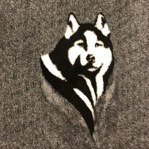 Siberian Head Dog VetBed