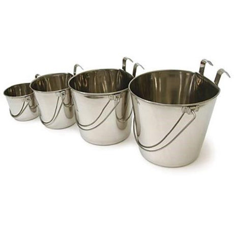 Stainless Steel Buckets with Hook