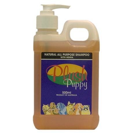 Plush Puppy - All Purpose Shampoo with Henna - 500mL