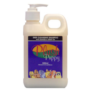 Plush Puppy - Deep Plush Puppy - Cleansing Shampoo with Seaweed and Green Tea - 500mL