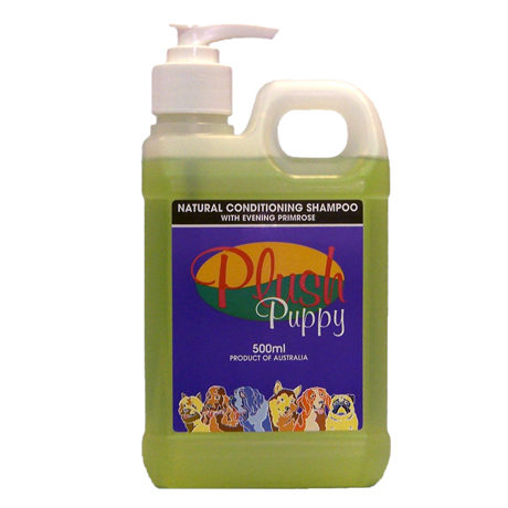 Plush Puppy - Natural Conditioning Shampoo with Evening Primrose - 500mL