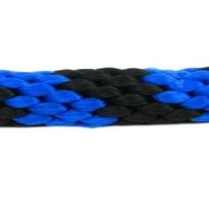 Rope Lead: Blue & Black