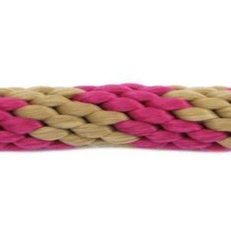 Rope Lead: Tan & Burgundy