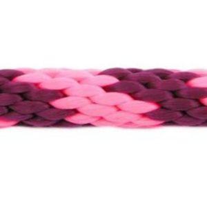 Rope Lead: Pink & Burgundy