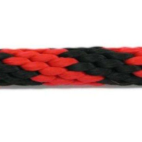 Rope Lead: Red & Black