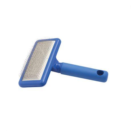 Plush Puppy Blue Soft Slicker Brush