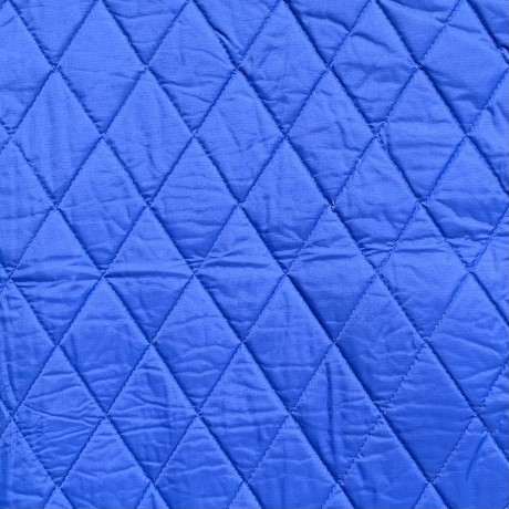 Blue Quilted Cool Coats