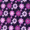Purple Flower Polar Fleece