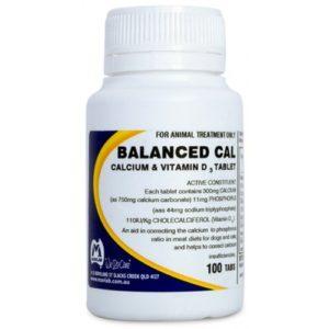 Balanced Cal Tablets 100tabs