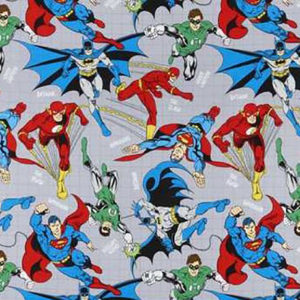 Justice League Cotton Crate Mats