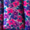Pink and Purple Flowers Cotton Crate Mats