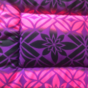 Purple Pink Cotton Crate Mats