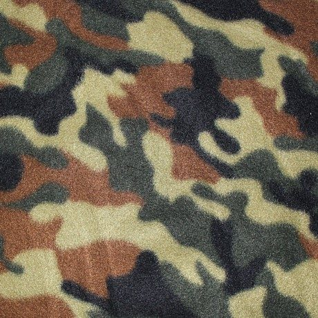 Camouflage Polar Fleece
