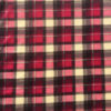 Pinky Red Tartan Polar Fleece