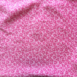Pink Leopard Polar Fleece
