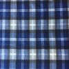 Tartan Blue Grey Polar Fleece