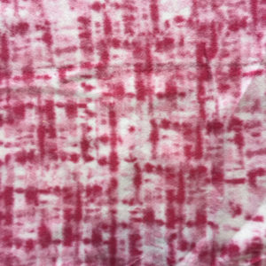 Tie Die Pink Polar Fleece