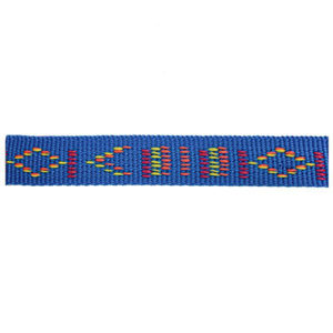 Aztec Blue Fluff Collars