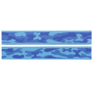 Blue Camo Fluff Collars
