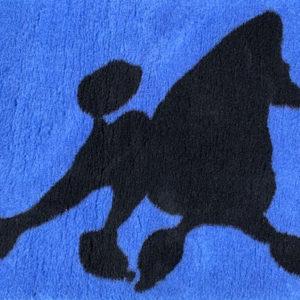 Blue Poodle Running VetBed