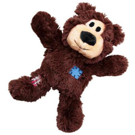 KONG Wild Knots Bear Dark Brown