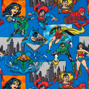 DC Superheroes Polar Fleece