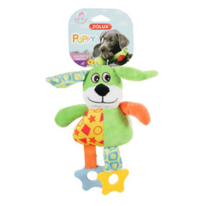 Zolux Puppy Teether Green Dog