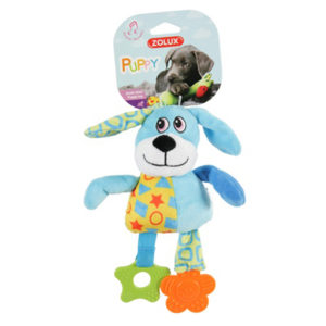 Zolux Puppy Teether Blue Dog