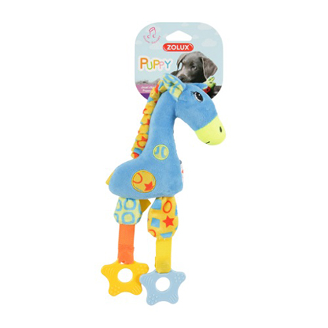 Zolux Puppy Teether Blue Giraffe