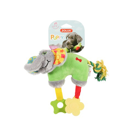 Zolux Puppy Teether Green Elephant