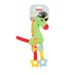 Zolux Puppy Teether Green Giraffe