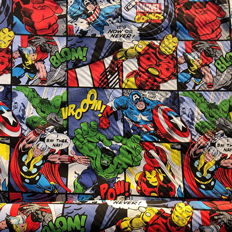 Avengers Cotton Crate Mat