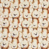 Teddy Bears Cotton Crate Mat