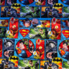 Justice League Action Cotton Crate Mat
