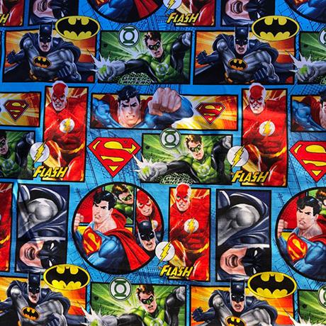 Justice League Action Cotton Crate Mat