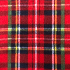 Red Tartan Polar Fleece