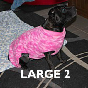Large 2 Already Made Reversible Polar Fleece Coats