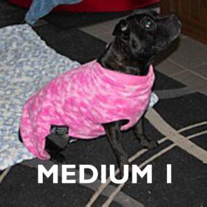 Medium 1 Already Made Reversible Polar Fleece Coats