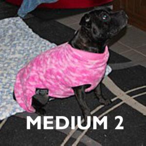 Medium 2 Already Made Reversible Polar Fleece Coats
