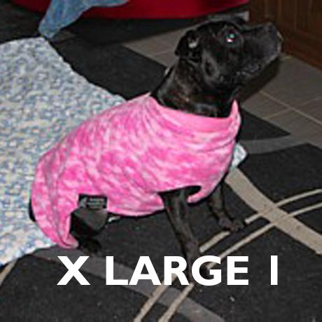 X Large 1 Already Made Reversible Polar Fleece Coats
