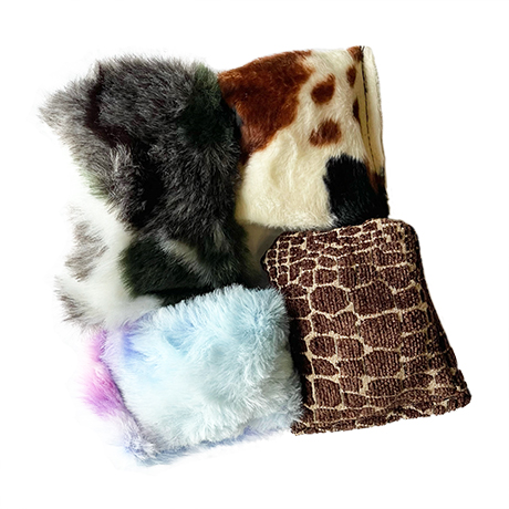 Wolf's Den Crinkcle Squeker Toy