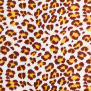 Brown Leopard Polar Fleece