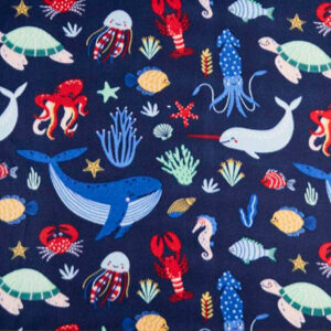 Deep Sea Navy Polar Fleece