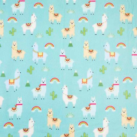 Llamas Polar Fleece