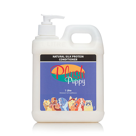 Plush Puppy Natural Silk Protein Conditioner 1L