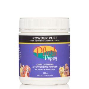 Plush Puppy Powder Puff Terrier