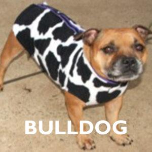 Bulldog Already Made Polar Fleece Vest Coats