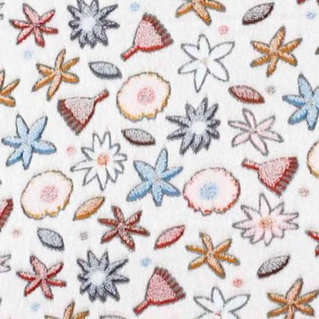 Coral Fleece Native Flowers